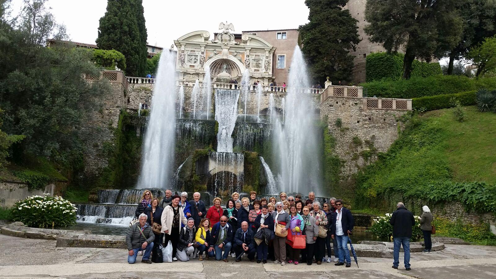 Gruppo a Tivoli