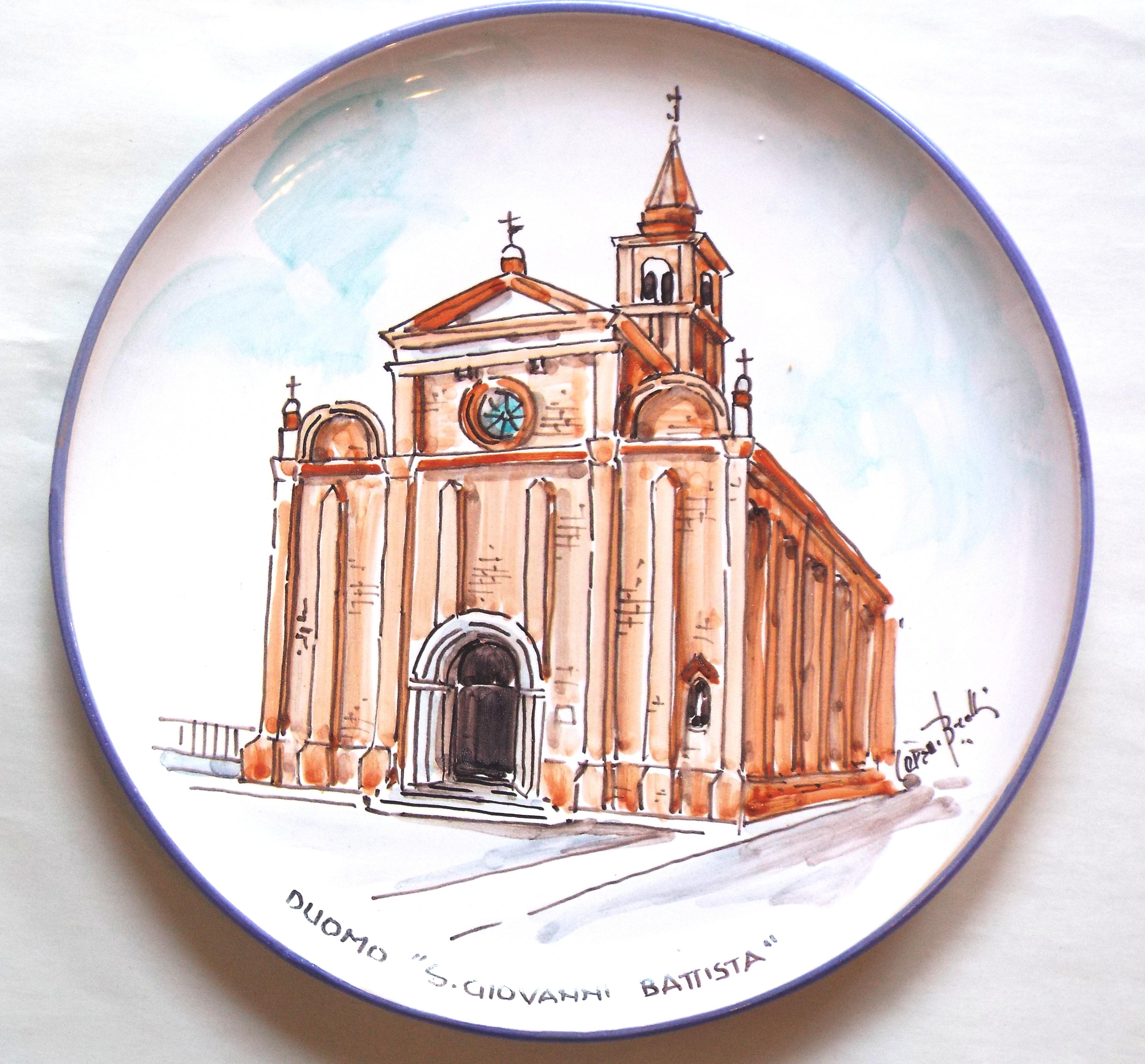 Piatto 2019 Duomo San Giovanni Battista
