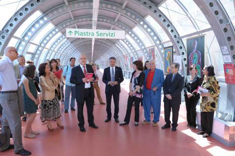Inaugurazione mostra Gianfranco Collina